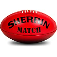 Sherrin Match Leather Aussie Rule Football Size 5