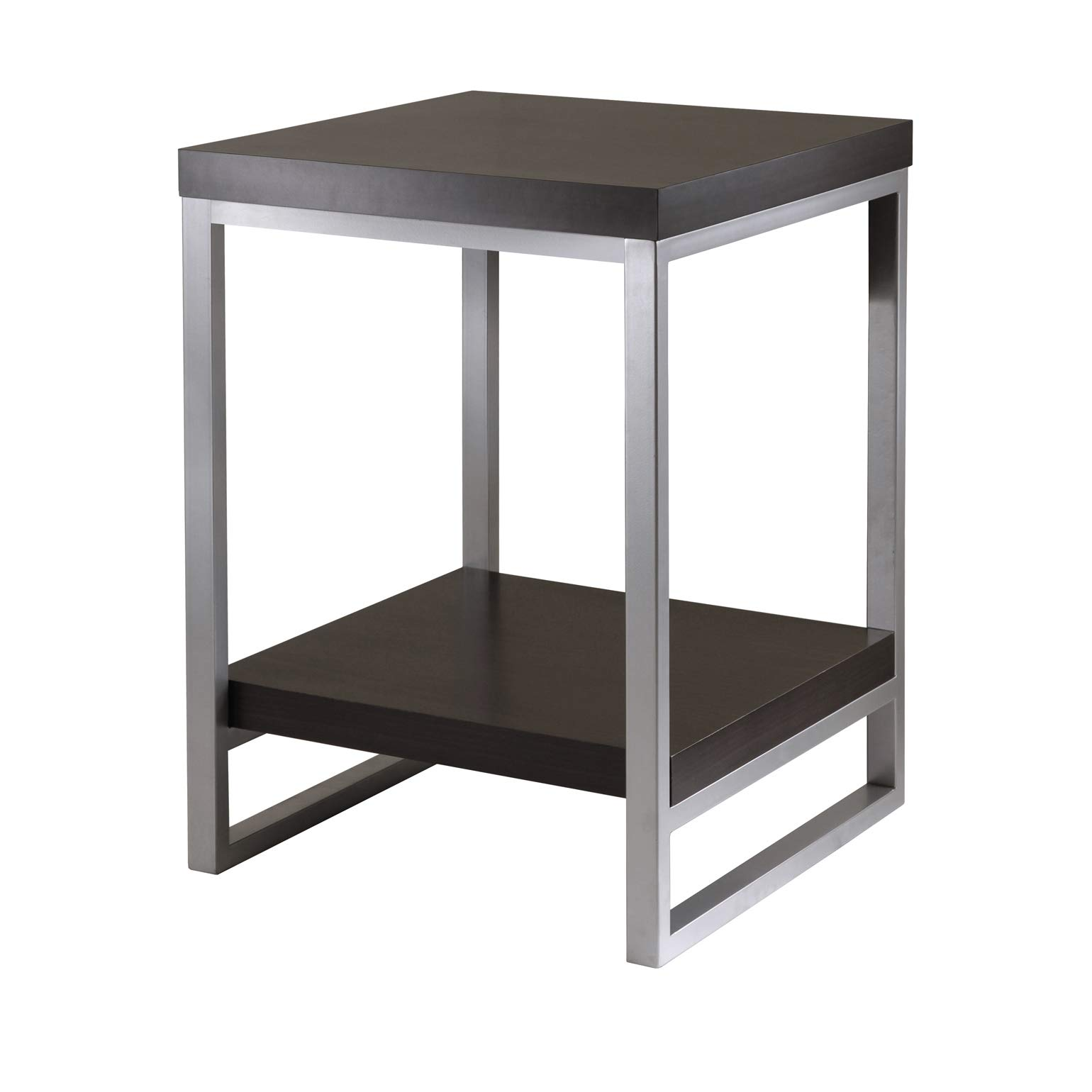 Winsome Wood Jared End Table, Espresso Finish by Winsome Wood