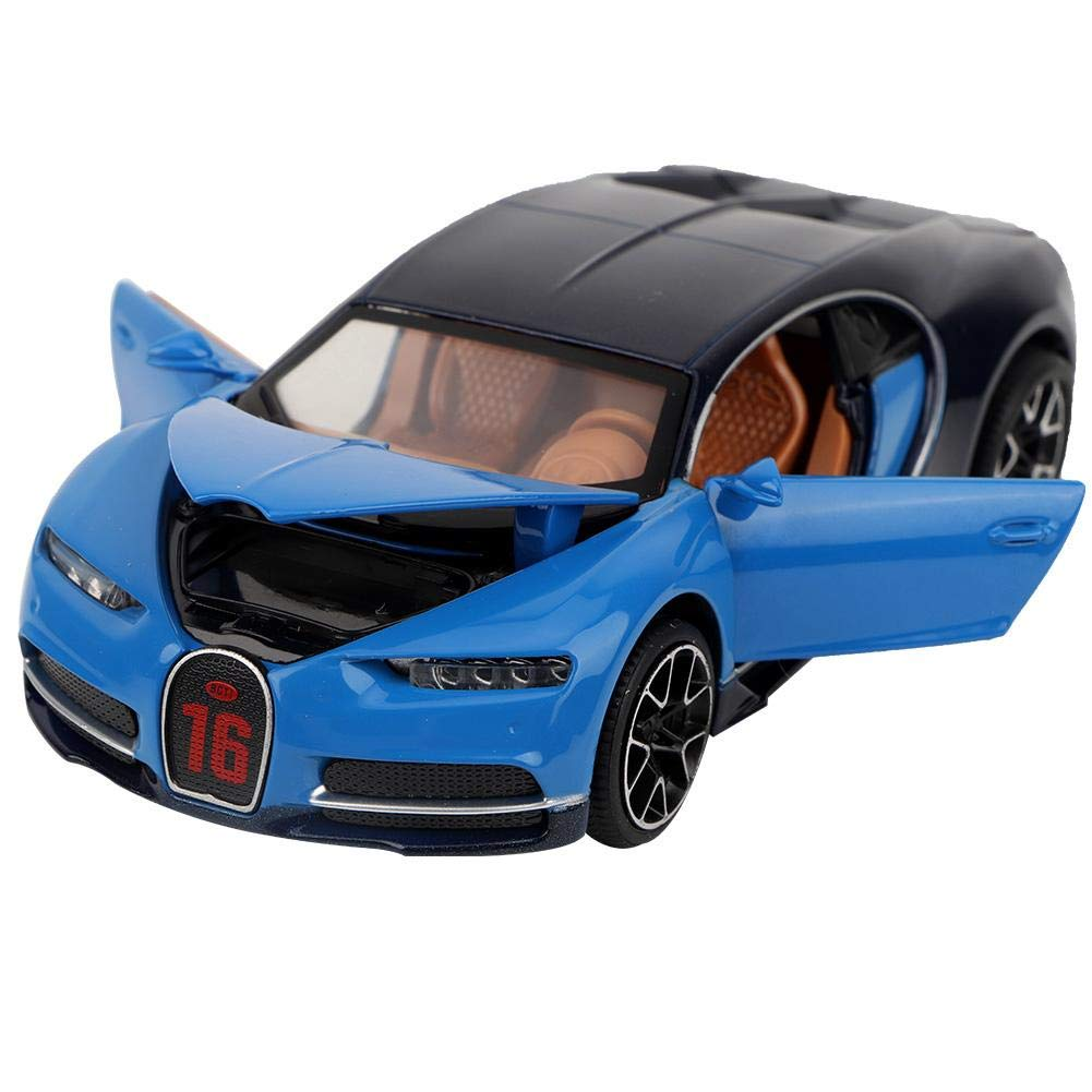simulaci/ón Coche de Carreras Tire hacia atr/ás el Juguete del Carro Juguete Deportivo Modelo con LED Mejores Regalos para ni/ños Juguetes de Modelo de Coche