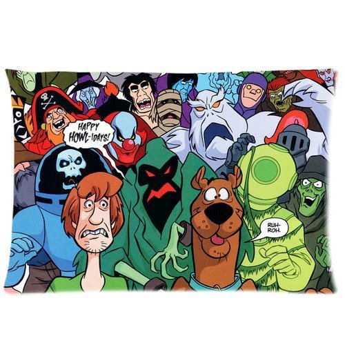 Qwtykeertyi Scooby Doo Removable Fine Workmanship Strong and Beautiful Durable Retro Fashion Door Sign 5.5 X 7.5 in