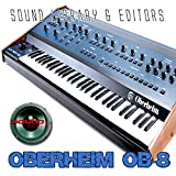 OBERHEIM OB-8 Large Original Factory & New Created Sound Library/Editors on CD or download