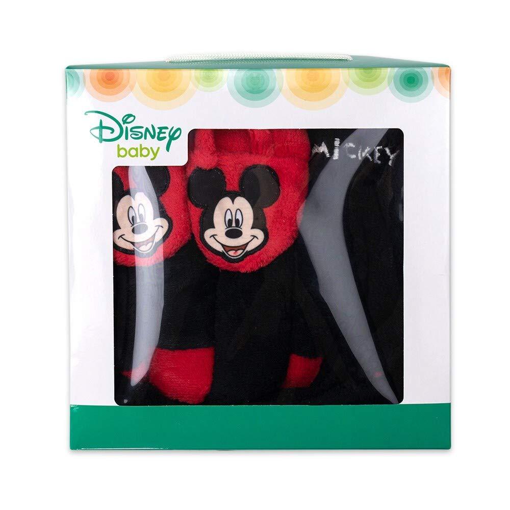 gar/çon Disney 92 0 /à 24 Mois Noir//Rouge 18-24 Monate B/éb/é Peignoir