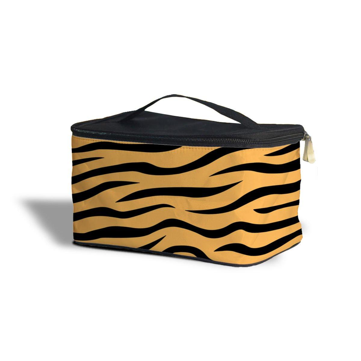 驚きの値段 Zebra Print化粧品ストレージケース – メイクアップZipped Travelバッグ One Case Size Cosmetics B074XCBFZ7 Storage Size Case オレンジ QoC000806-orange-csb B074XCBFZ7 オレンジ One Size Cosmetics Storage Case, デジコレクション:612cdcf4 --- arianechie.dominiotemporario.com