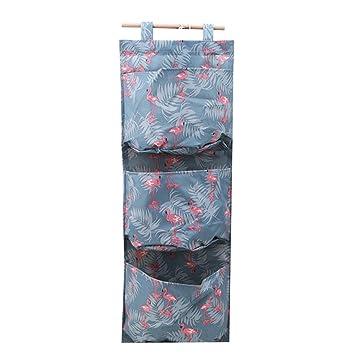 Toporchid H/ängeorganizer Korb Wand h/ängenden Hanging Storage Bag Debris Beutel Bad Wand Utensilo Multifunktionale Wohnzimmer Schlafzimmer H/ängenden Tasche Muster 4