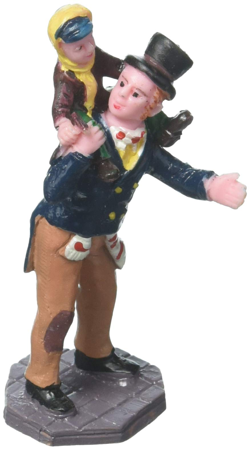 Lemax Figurine - Caddington Village -''Bob Cratchit and Tiny Tim'' #02403 set of 1