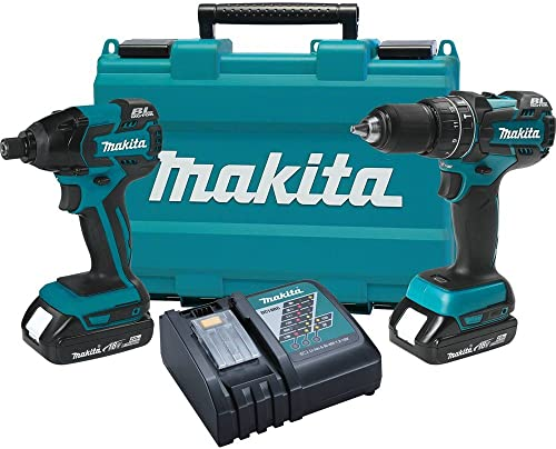 Makita XT248R 18V Compact Lithium-Ion Brushless Cordless Combo Kit 2 Piece – Discontinued by Manufacturer Discontinued by Manufacturer