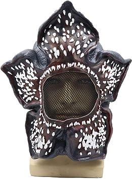 MBEN Cosplay Demogorgon máscara, piraña en Forma de Flor látex no ...
