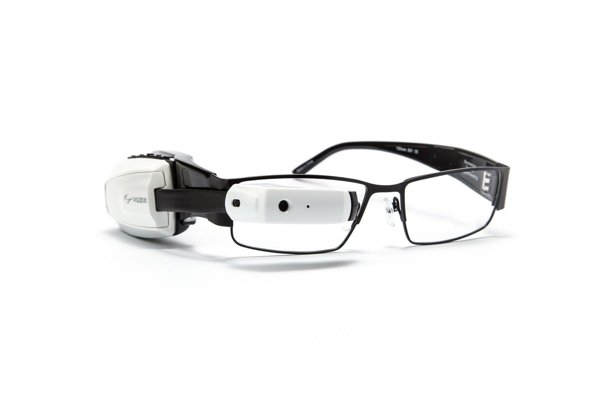 Vuzix M100 Smart Glasses (White) by Vuzix