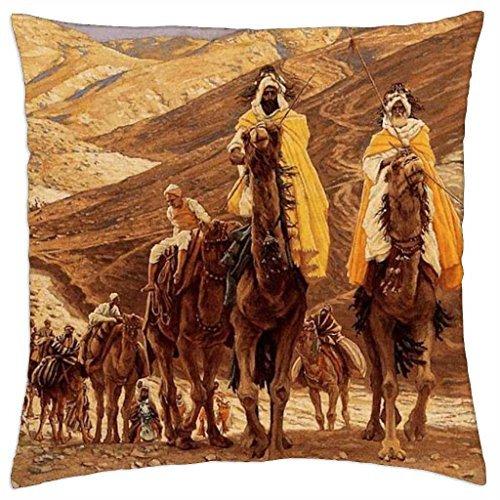 De los tres Reyes Magos Enroute to see bebé Jesús - Manta ...