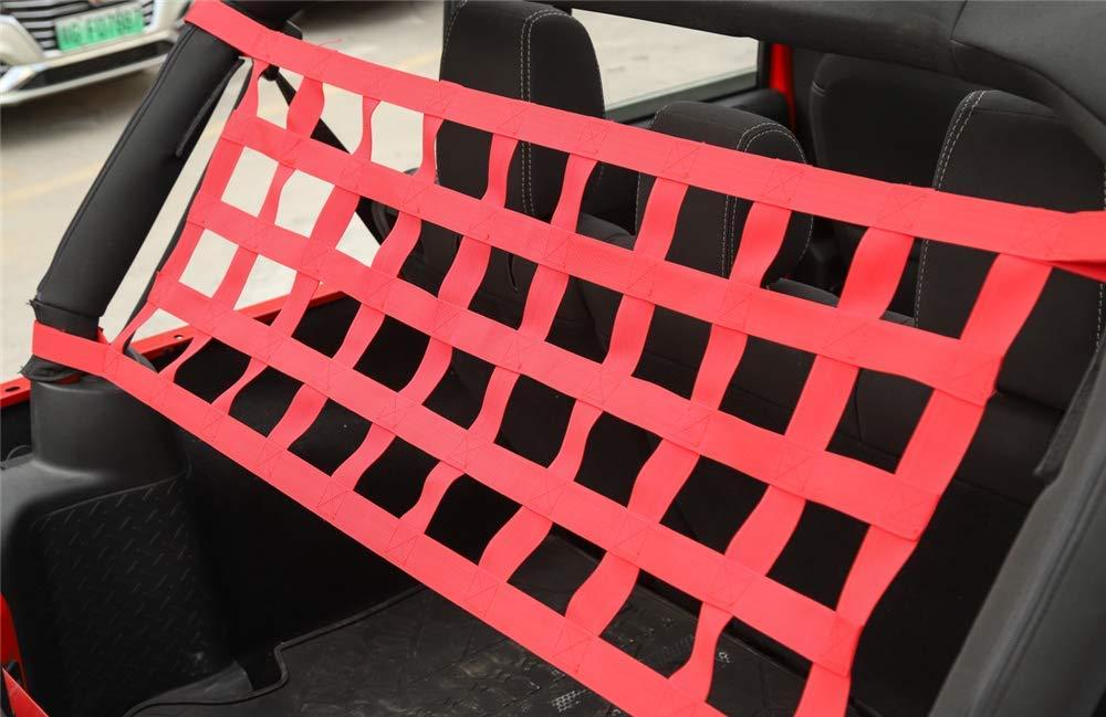 YJ JL 156x48cm Gep/äcknetz Auto H/ängematten Bett Net Rest Oxford Tuch Auto Dach H/ängematte f/ür YJ TJ JK