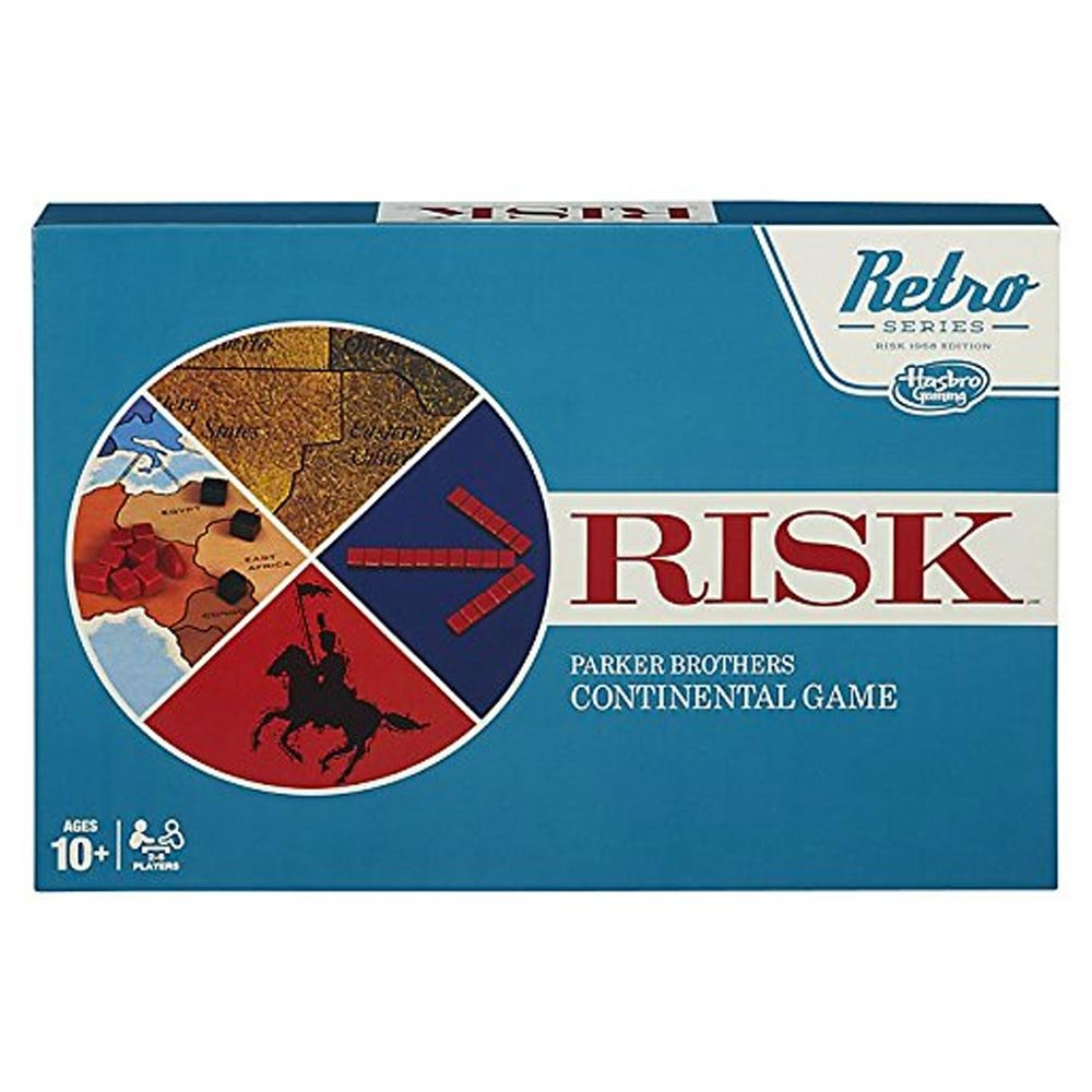 FRIENDS & FAMILY GAMING Retro Risk Game by FRIENDS & FAMILY GAMING