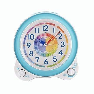 RUIMA Sveglia Sveglia Sveglia a Forma di Camera da Letto con Sveglia Regolabile, Batteria al Quarzo, Batteria, Sveglia, Funzione Luce Notturna