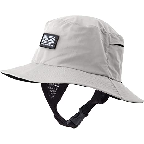 e5313b54ff0 Image Unavailable. Image not available for. Color  Ocean and Earth Mens  Bingin Soft Peak Grey Bucket Surf Hat ...