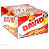 36 PACK David Sunflower Seed Bags Nacho Cheese. Salted Roasted Flavor Lot Bulk