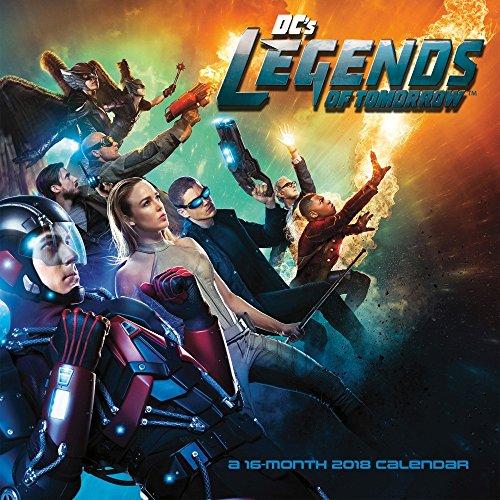 Legends Of Tomorrow 2018 Wall Calendar