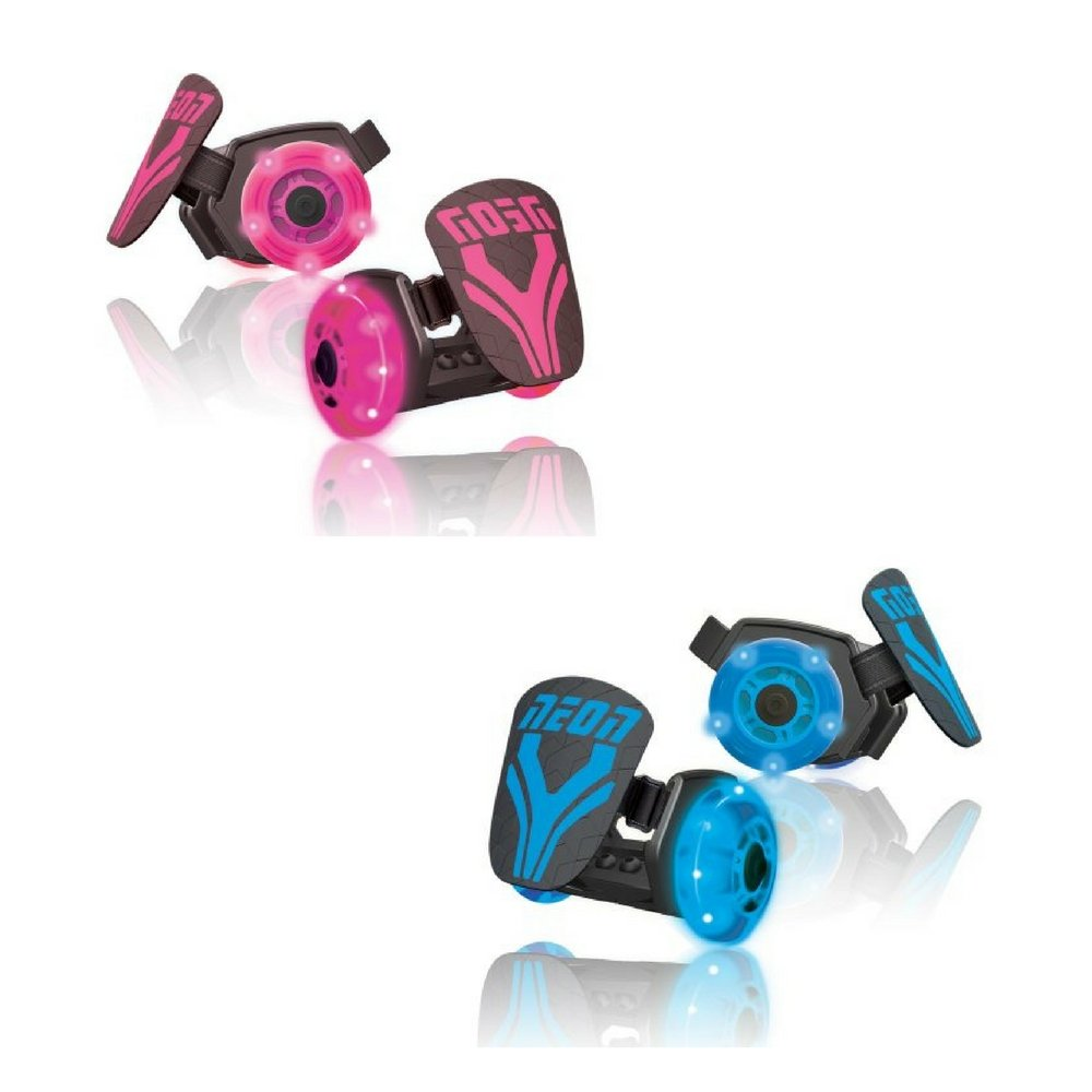 YVOLUTION Neon Street Roller BLUE AND PINK COMBO PACK