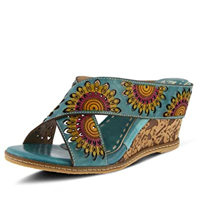 23d4c44955 Amazon.com | L'Artiste by Spring Step Women's Enticing Turquoise 38 ...