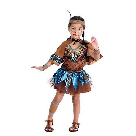 indiana carnevale bambina  Piccola indiana - costume da bambina per travestimento - vestito ...