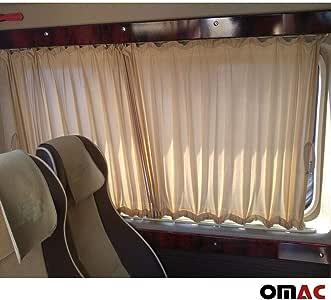 Protección Solar cortina métrica cortinas cortinas T5 Transporter 03 – 15 corta Beige: Amazon.es: Coche y moto