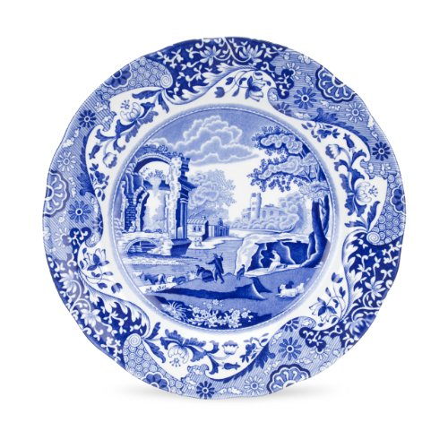 Spode Blue Italian Luncheon Plate, Set of 4 ()