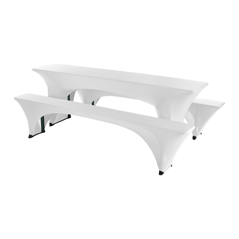 SCHEFFLER-HOME Paul Bierzelt-Garnitur 3tlg. Set für Tisch und Bänke ...