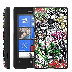 [ManiaGear] Design Graphic Image Shell Cover Hard Case (Street Art) for Nokia Lumia 635