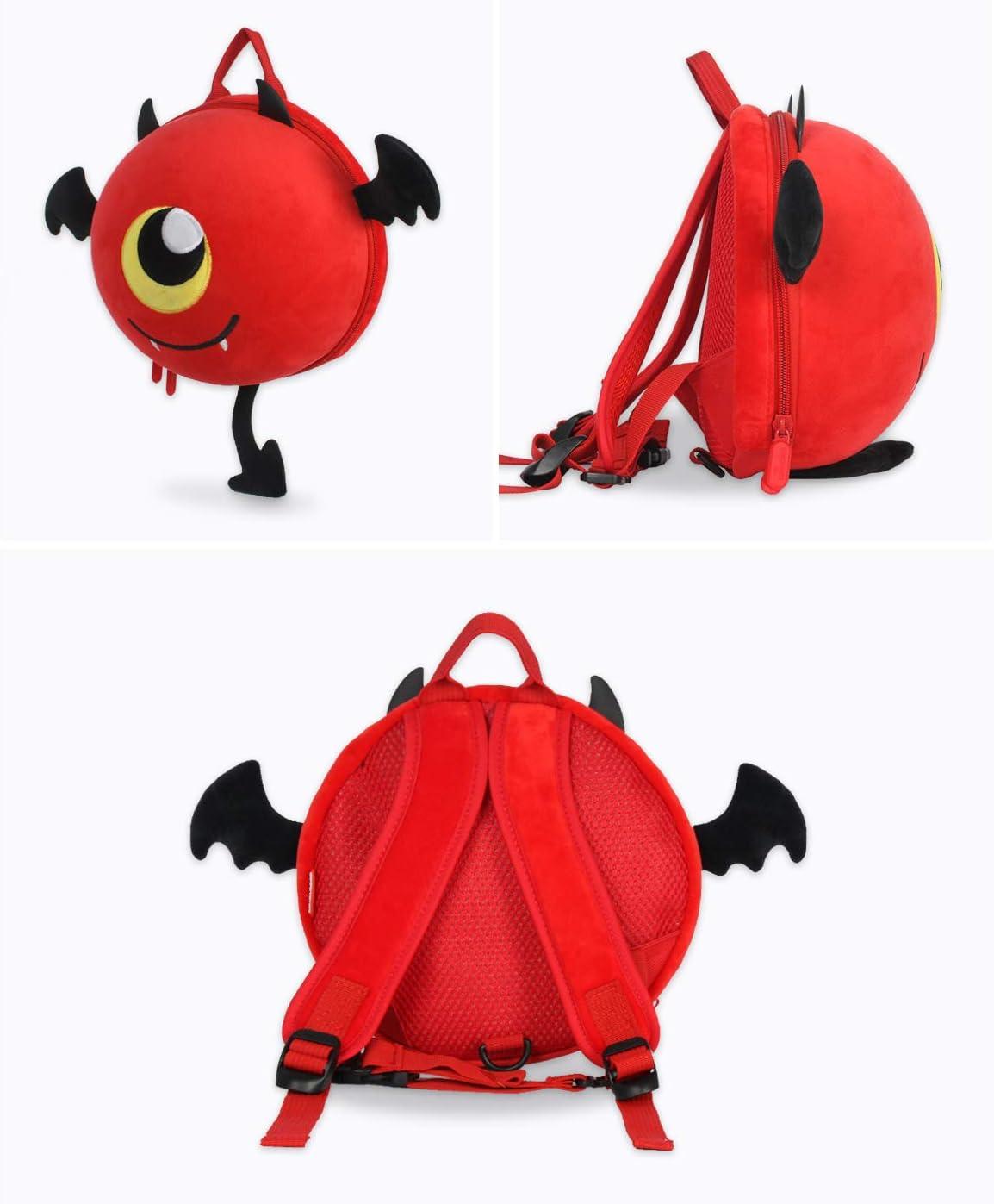Supercute Little Devil Toddler Backpack for Spoof Christmas Festival Kids Gift