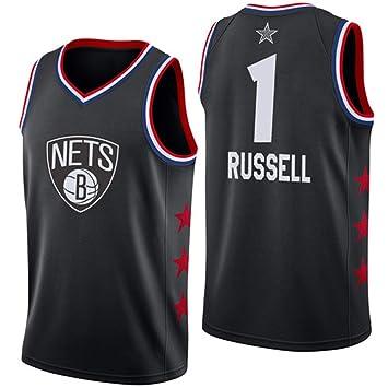 KSITH Camiseta Hombre NBA Fan All-Star Nets # 1 Jersey Baloncesto ...