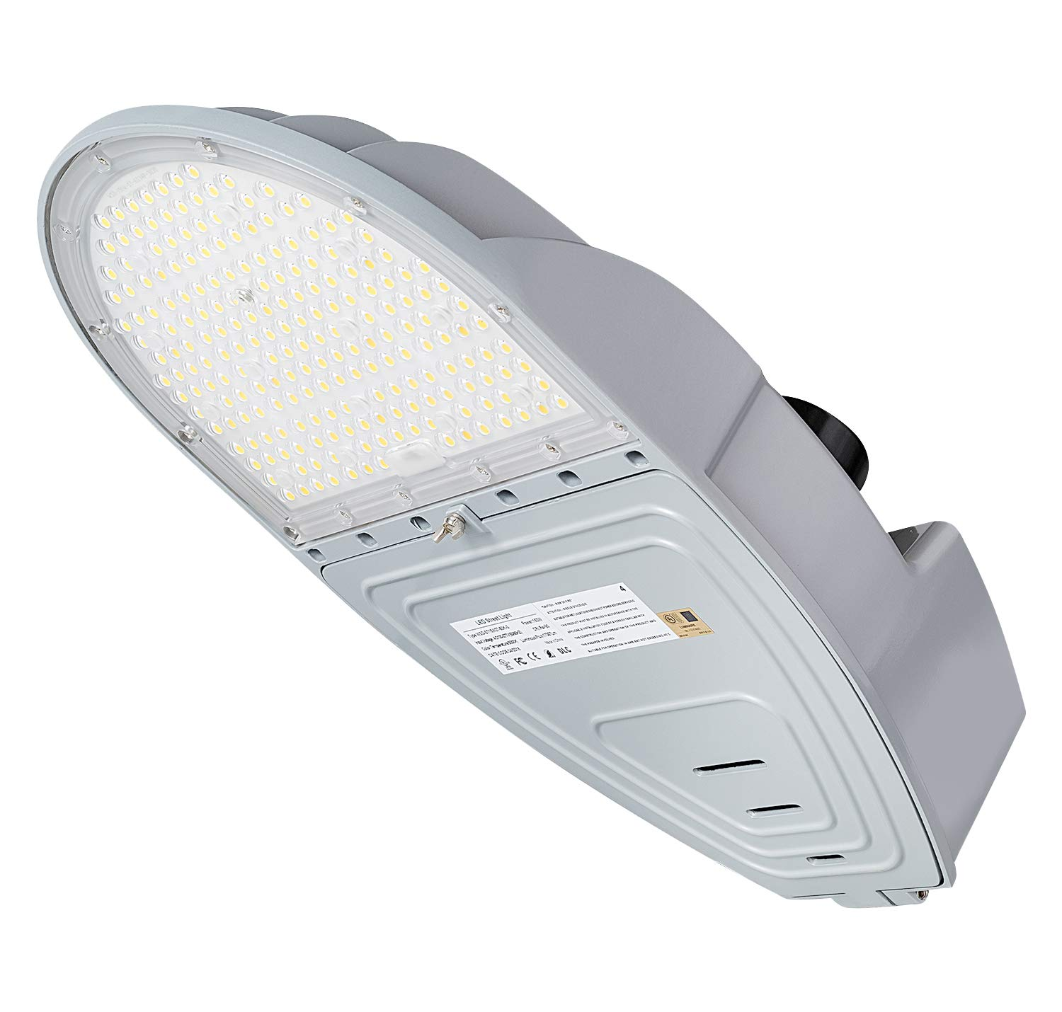 1000LED LED Street Light 150W, 17,367Lm, 400W HID/HPS Replacement, 0-10V Dimmable, AC110-277V, Waterproof IP65, LED Area Light
