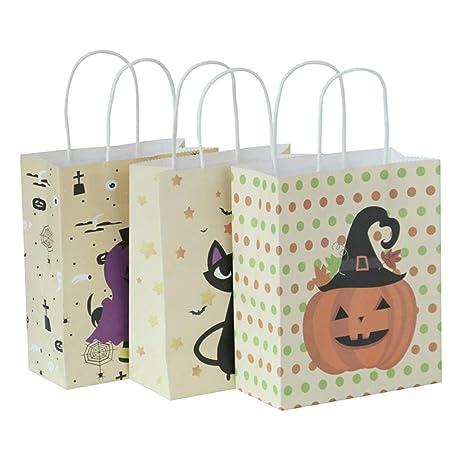 Ngshanquzhuyu con Estilo 3 Paquete Halloween Bolsa Bolsas ...