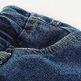 TJTJXRXR Little Baby Boys Girls Ripped Jeans Kids