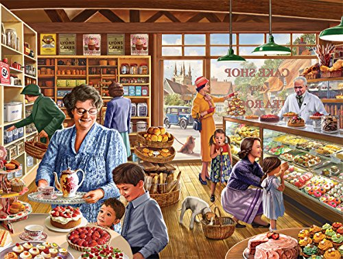 White Mountain Puzzles Cake Shop - 1000 Piece Jigsaw Puzzle