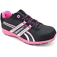 Groundwork Ligero Zapatillas de Seguridad de Las Mujeres con Puntas de Acero, Zapatos de Seguridad