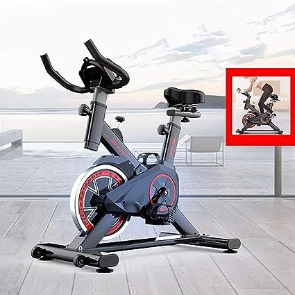 YUHT - Bicicleta estática para interiores con pantalla LCD: Amazon ...