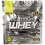 MuscleTech Platinum 100% Whey Protein Powder, Cookies and Cream, 3 Servings