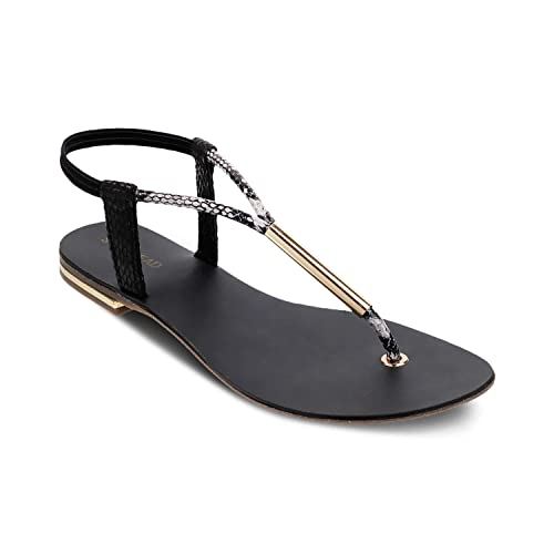 6b355d697a63 SOLE HEAD Black Women Sandals  Buy Online at Low Prices in India - Amazon.in