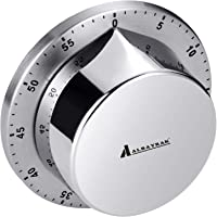 Albayrak Kitchen Timer, Chef Cooking Timer Clock with Loud Alarm, No Batteries Required, 100% Mechanical - Magnetic…