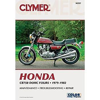 clymer manual honda cb750 dohc 79-82 m337 pu m337