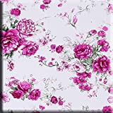 Universal 7.5-8.5 inch Tablet Case, Dteck Pretty Cute Stand Flip Folio Wallet Case with Card Slots PU Leather Protective Cover for iPad Mini,Kindle,Galaxy & Other 7.5-8.5 inch Tablet,Pink Floral