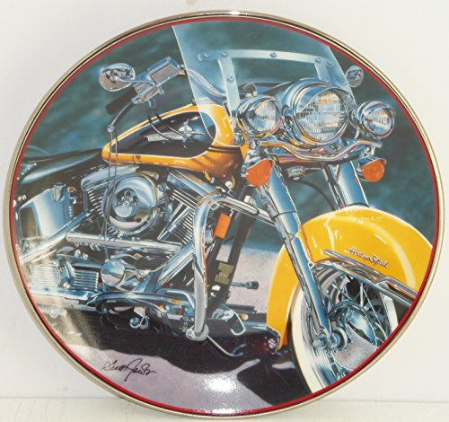 Harley Davidson Collector Plate Motorcycle Franklin Mint