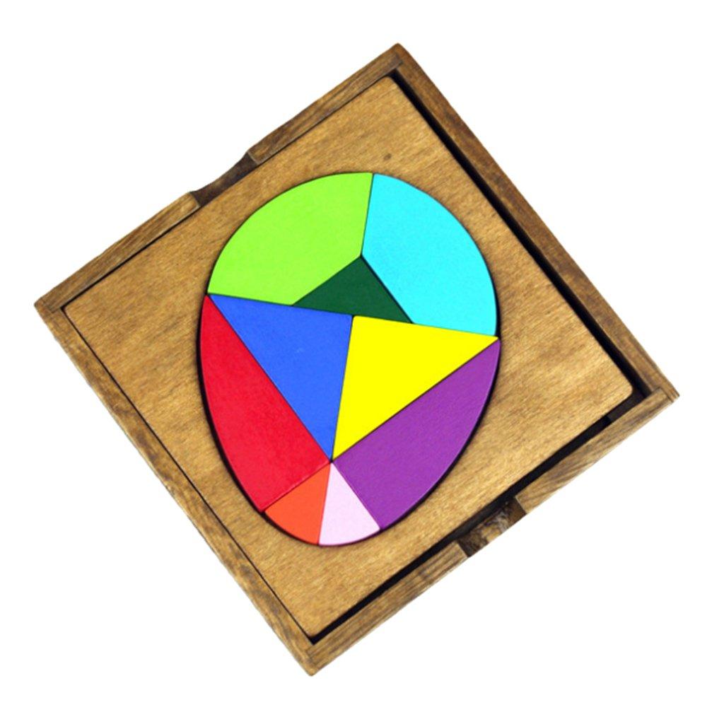 卸売 SM子供早期教育sunnimixジオメトリ認知おもちゃ木製パズルJigsaw Board B07FXR115P Board B07FXR115P, 銘木無垢ダイニングテーブルDOIMOI:d914dc20 --- 4x4.lt