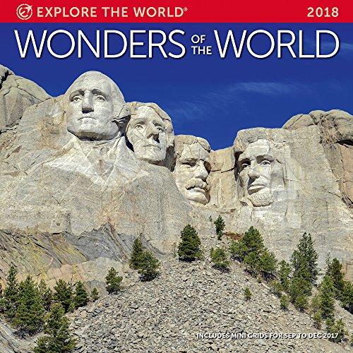 Wonders Of The World Wall Calendar 2018