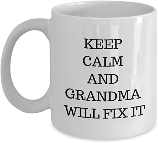 Amazon Com Great Christmas Gifts For Grandma Coffee Mug Keep