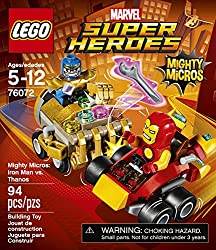 LEGO Super Heroes Mighty Micros: Iron Man Vs. Thanos 76072 Building Kit