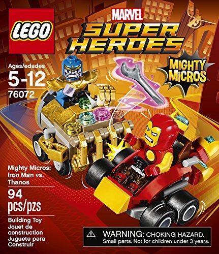 Building Super Man MicrosIron Heroes Mighty 76072 VsThanos Lego v8Nnw0m