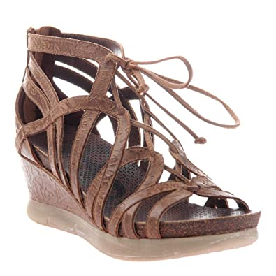 beb03a5c462 OTBT Women s Nomadic Wedge Sandals - Hickory - 5.5