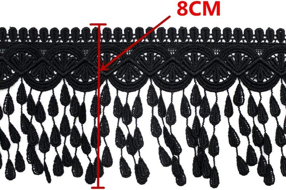 5 cm loop Cream Caro Key Tassel Fabric trim Trimming Sewing  8.5 cm Tassel