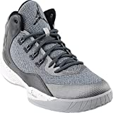 Jordan Nike Men's Rising High 2 Wolf Grey/Black/Dark Grey Basketball Shoe 10.5 Men US