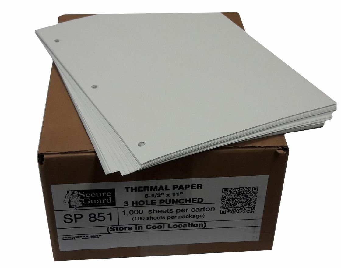 3 Hole Punch Thermal Paper-SP851