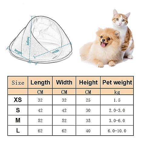 PetvillaLKR Invierno Cálido Cama para Perro Mascota Casa de Perro Suave Gato Adecuado Cama para Perro